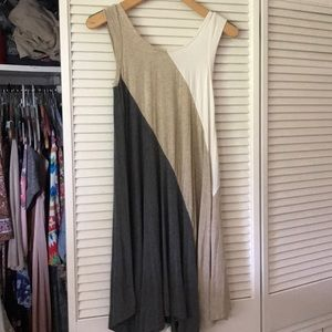 Weston colorblock dress from Anthropologie